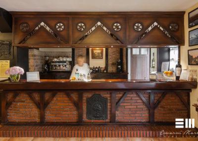 Fotografía inmobiliaria en Recepción y Restaurante de la Casa Rural Jesuskoa