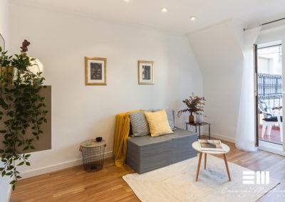 Home Staging completo en apartamento en Donostia
