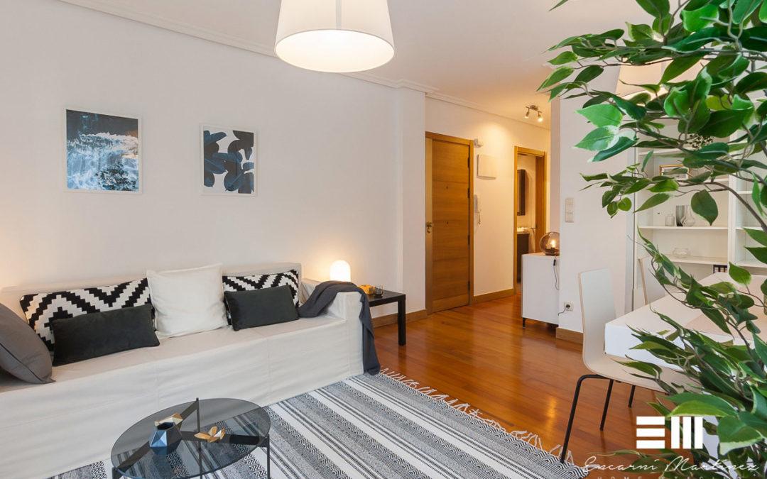 Home Staging completo en vivienda de Astigarraga
